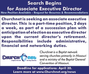Churchnet Associate Executive Director Search