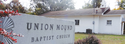 Churches such as Union Mound Baptist Church in Elkland, Mo., can provide a sense of family for members, Despite a rural setting, the community has increased by one-third since 2000.