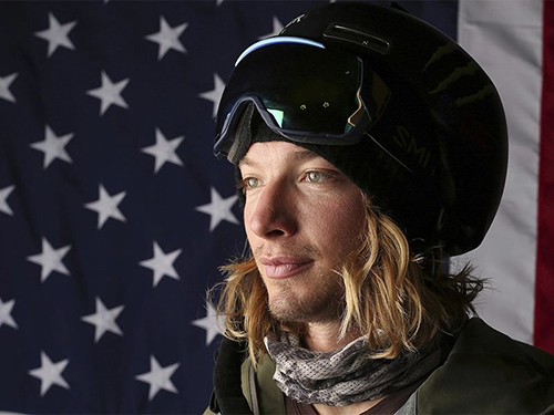 U.S. Olympic Winter Games halfpipe skier David Wise poses for a portrait at the 2017 Team USA Media Summit on Sept. 26, 2017, in Park City, Utah. (AP Photo/Rick Bowmer)