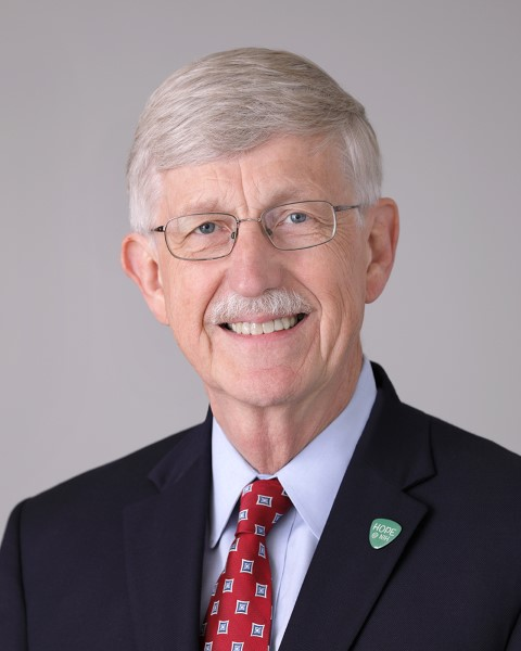 Francis Collins in 2017. Photo courtesy of National Institutes of Health