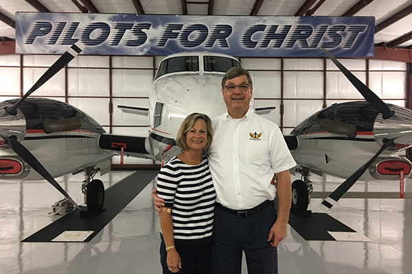 Tommy Lee and his wife, Lindy, dedicate their time to the work of Pilots for Christ, an organization that provides free flights for people in need. They started a local chapter 24 years ago.