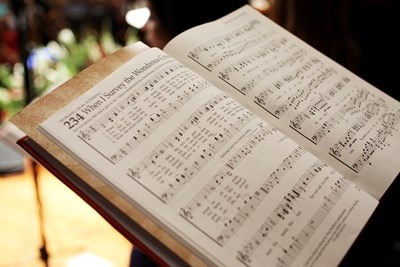 The 2008 Baptist Hymnal, published by LifeWay Christian Resources, debuted Aug. 8, 2008. File photo by Kent Harville