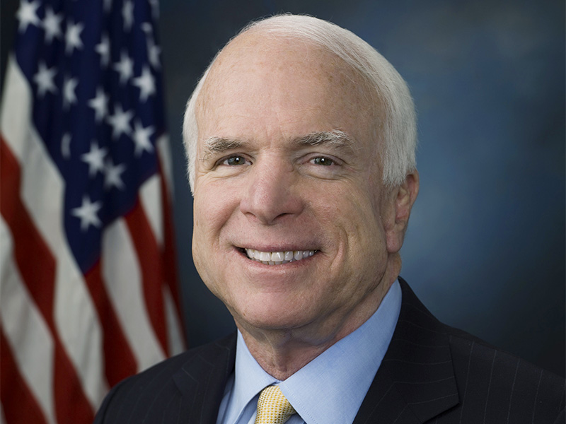 John-McCain photo in 2009. Photo courtesy of Creative Commons