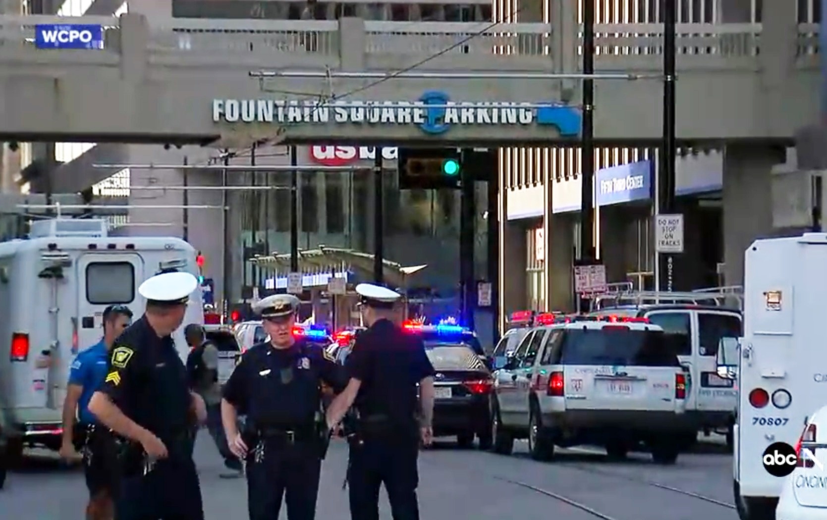 """""""Brokenness is pervasive,"""" said Cincinnati church planter Jason McKinney after the city saw four people killed and two others wounded in a mass shooting. Screen capture from ABC News"""