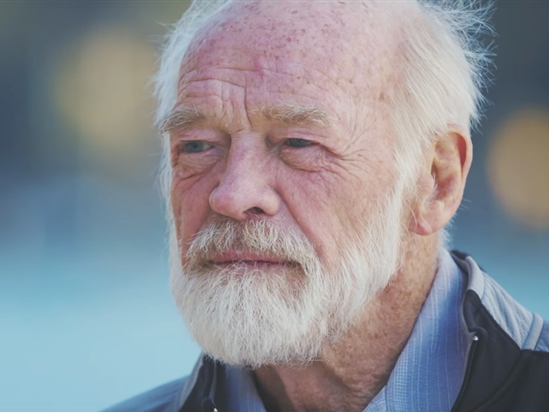 Eugene Peterson. Screenshot from YouTube