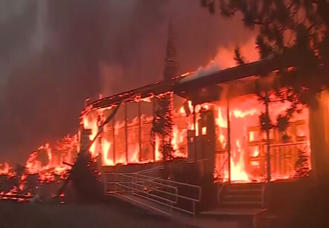 Northern California's Camp Fire, with 29 confirmed deaths to date, is among the deadliest wildfires in California history. CBSnews.com screen capture.