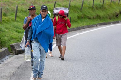 Venezuelans endure the rigor of finding a better life in neighboring Colombia. Submitted photo