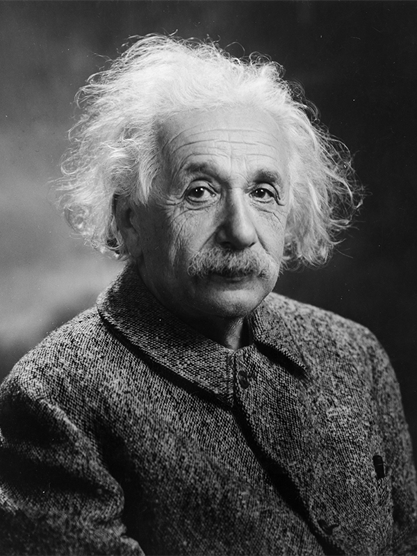 Albert Einstein in 1947. Photo courtesy of Creative Commons/LOC/Oren Jack Turner