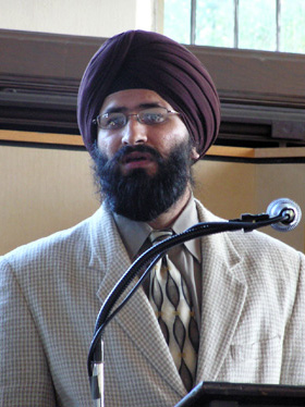 Jaideep Singh. Photo courtesy of the Sikh Foundation