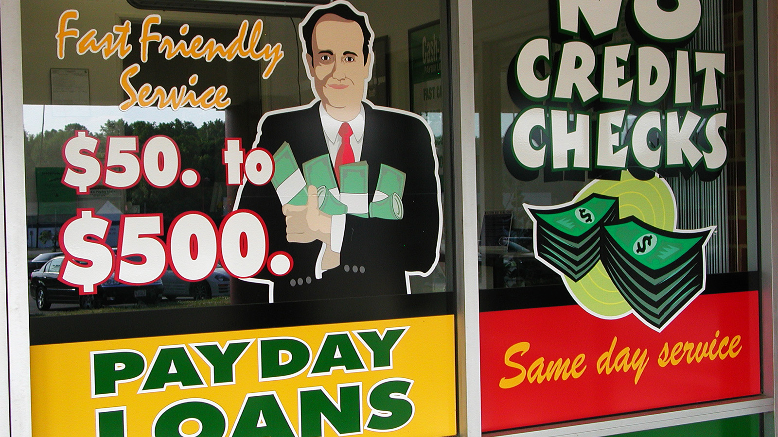 A payday loan location in Henrico County, Va. Photo by Taber Andrew Bain/Creative Commons