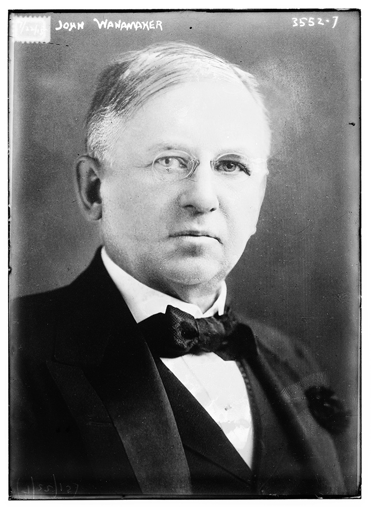 John Wanamaker in 1915. Photo courtesy of LOC/Creative Commons