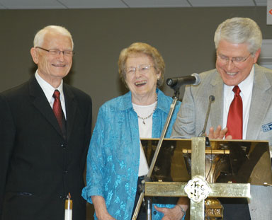 Ginn honored for 60 years in ministry