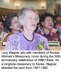 Lucy Wagner in Korea