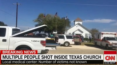 FBC Sutherland Springs CNN screencapture