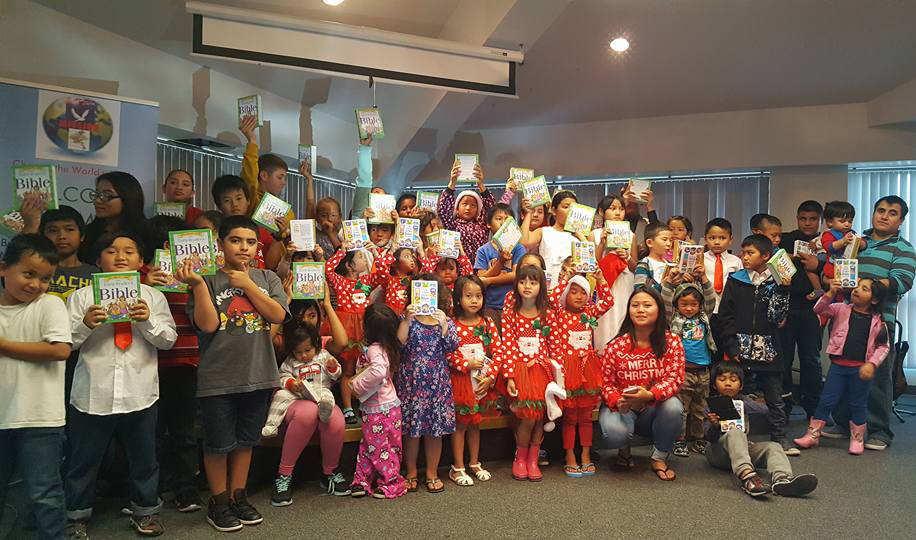 Agape Myanmar Mission's 23-day Christmas outreach led to 30 people making professions of faith in Jesus. It culminated with a Dec. 23 celebration in which children received age-appropriate Bibles and toys. (Submitted photo)