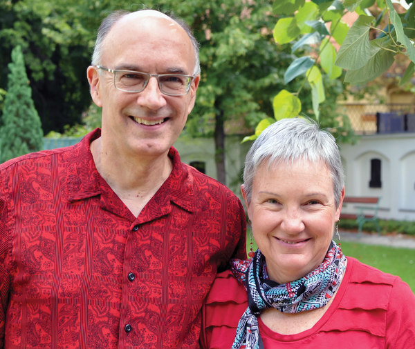 Central Seminary recently launched the Buttry Center for Peace and Nonviolence on their campus. The center is named for Dan and Sharon Buttry, Global Peace Consultants for International Ministries of American Baptist Churches, USA (Central Seminary)