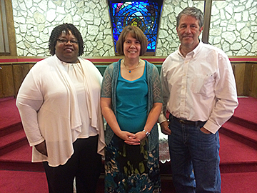 Englewood three-pastor team