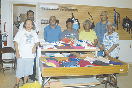 Clothes closets have been a staple ministry for many churches. (Word & Way file photo)