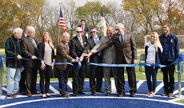 MBU Spartan Field dedication