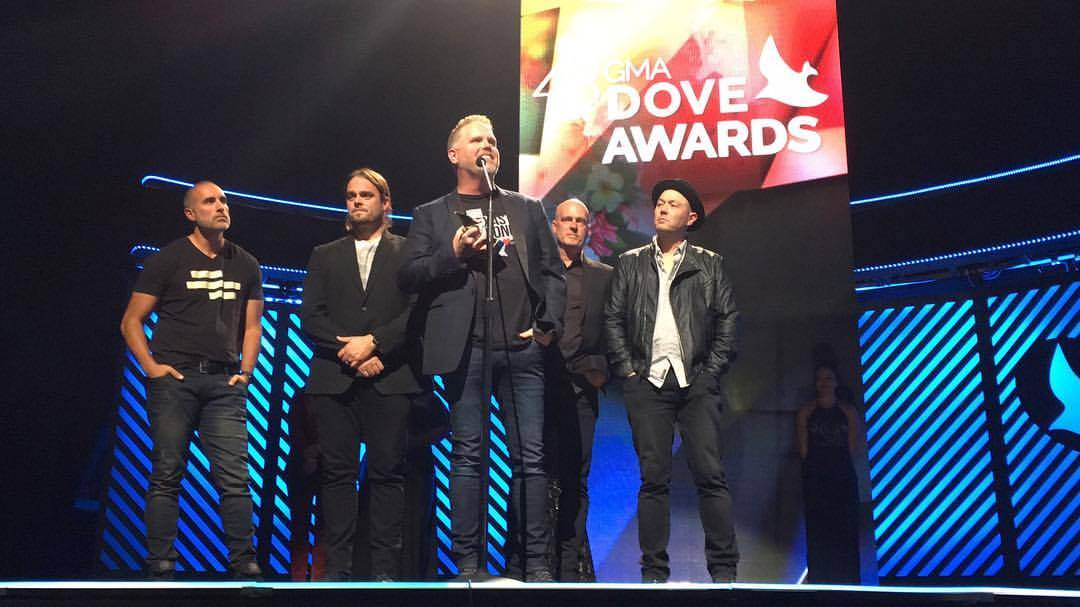 BP MercyMe at Dove Awards