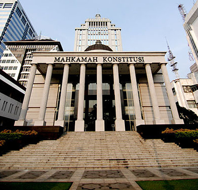 The office of Indonesian Constitutional Court at Jakarta (Source: Wikimedia Commons)