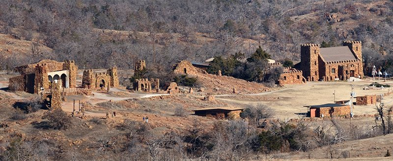 The Holy City of the Wichitas at Wichita Mountains Wildlife Refuge in Oklahoma. Photo by Larry Smith/Creative Commons