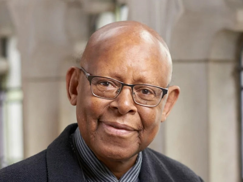 The Rev. James Cone, known as the father of black liberation theology, and the Bill & Judith Moyers Distinguished Professor of Systematic Theology at Union Theological Seminary, died April 28, 2018. Image courtesy of Union Theological Seminary