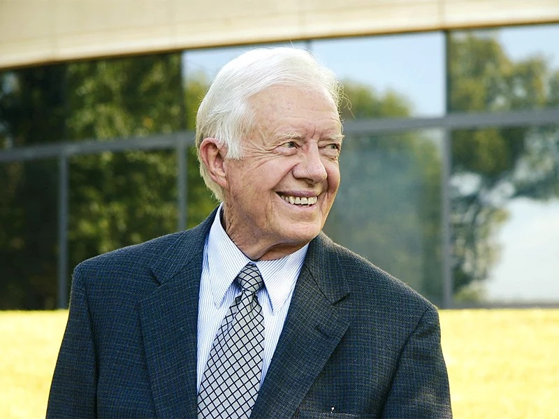 Former President Jimmy Carter. Photo by Sara Sanders Mitchell