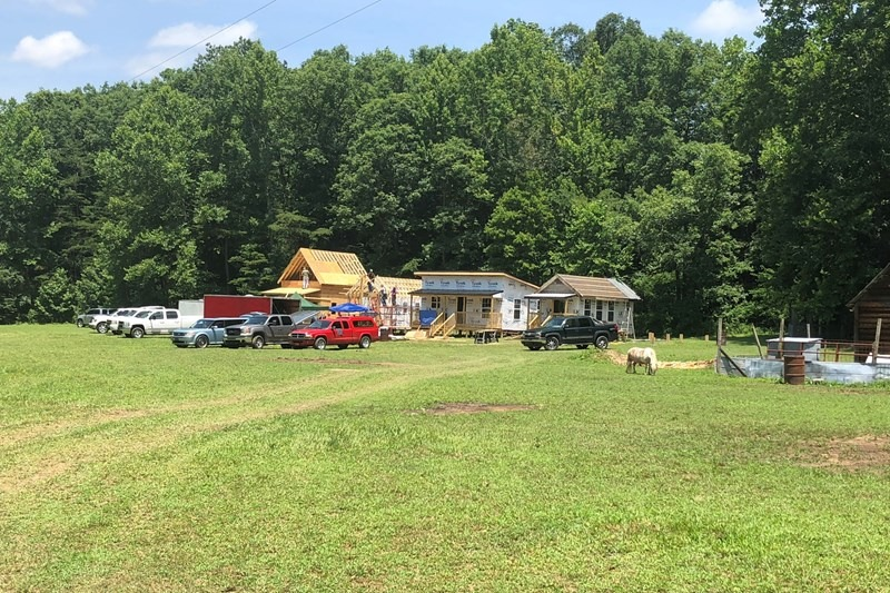 A 13-acre site in McCreary County is being readied for individuals and families needing a fresh start. Photo provided by Grant Hasty