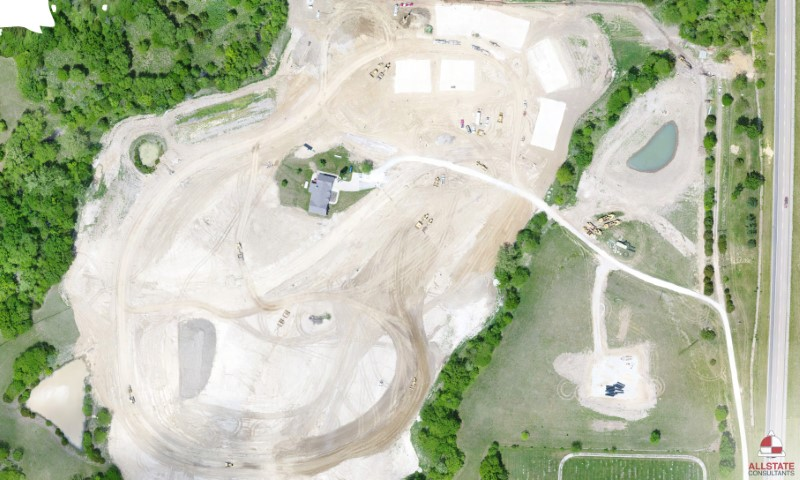 Arial view of The Baptist Home-Ashland campus in May 2018. (Image courtesy of Allstate Consultants)
