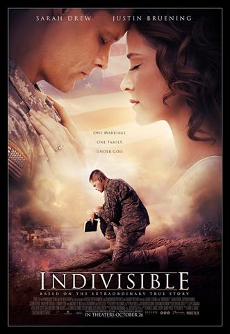"Film poster for ""Indivisible."" (Image courtesy of © 2018 Provident Films LLC and The WTA Group, LLC.)"