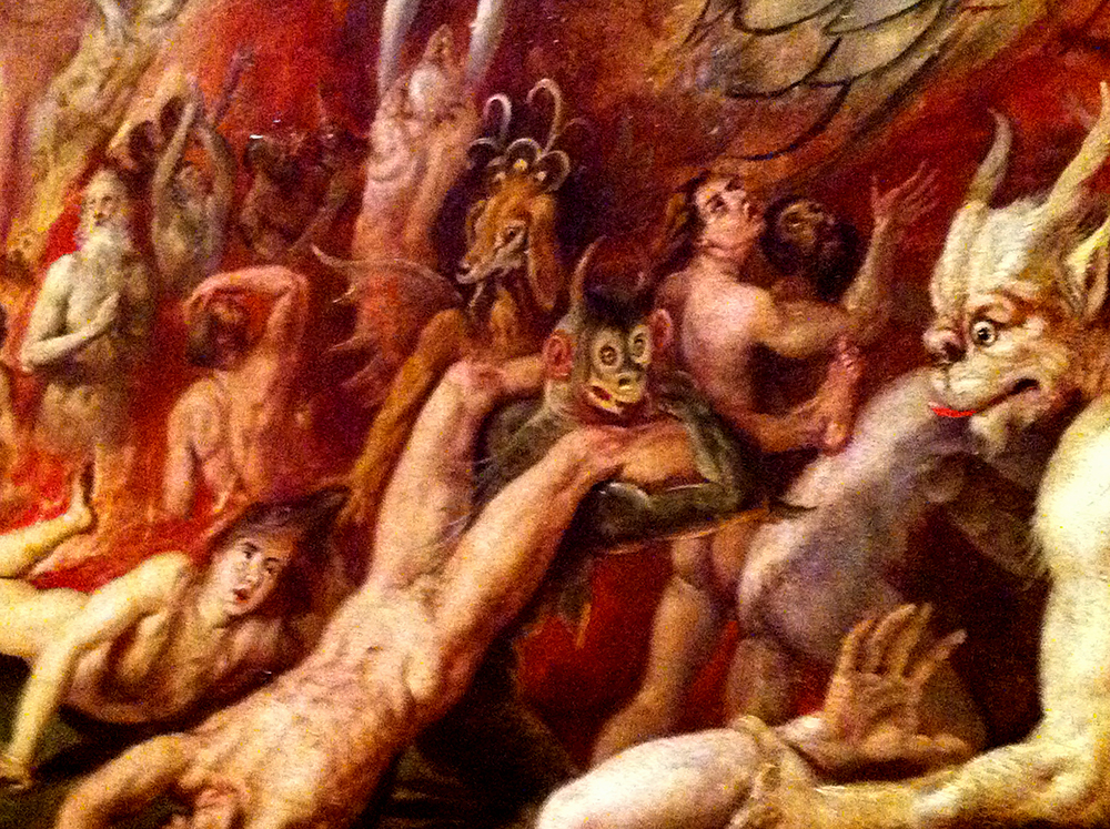 What was behind early depictions of hell? Photo by Erica Zabowski/Creative Commons