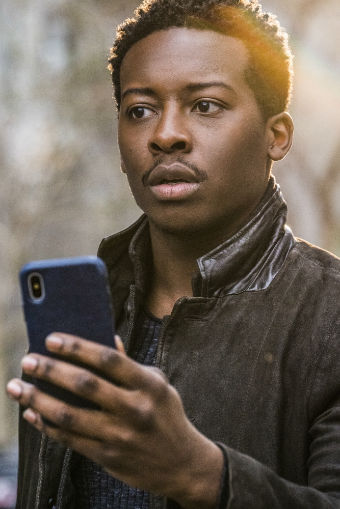 "In ""God Friended Me,"" Brandon Micheal Hall plays an atheist who has his life turned upside down when he receives a friend request from God on social media. Photo courtesy of Jonathan Wenk/CBS Broadcasting Inc."