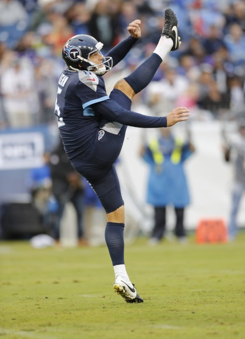 """Titans punter Brett Kern says, """"It would be a sin not to give it all I have for Him."""" Photo courtesy of the Tennessee Titans"""
