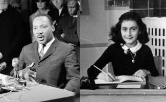 Martin Luther King Jr., and. Anne Frank