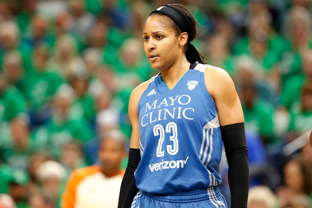 Minnesota Lynx's Maya Moore (AP Photo/Jim Mone)