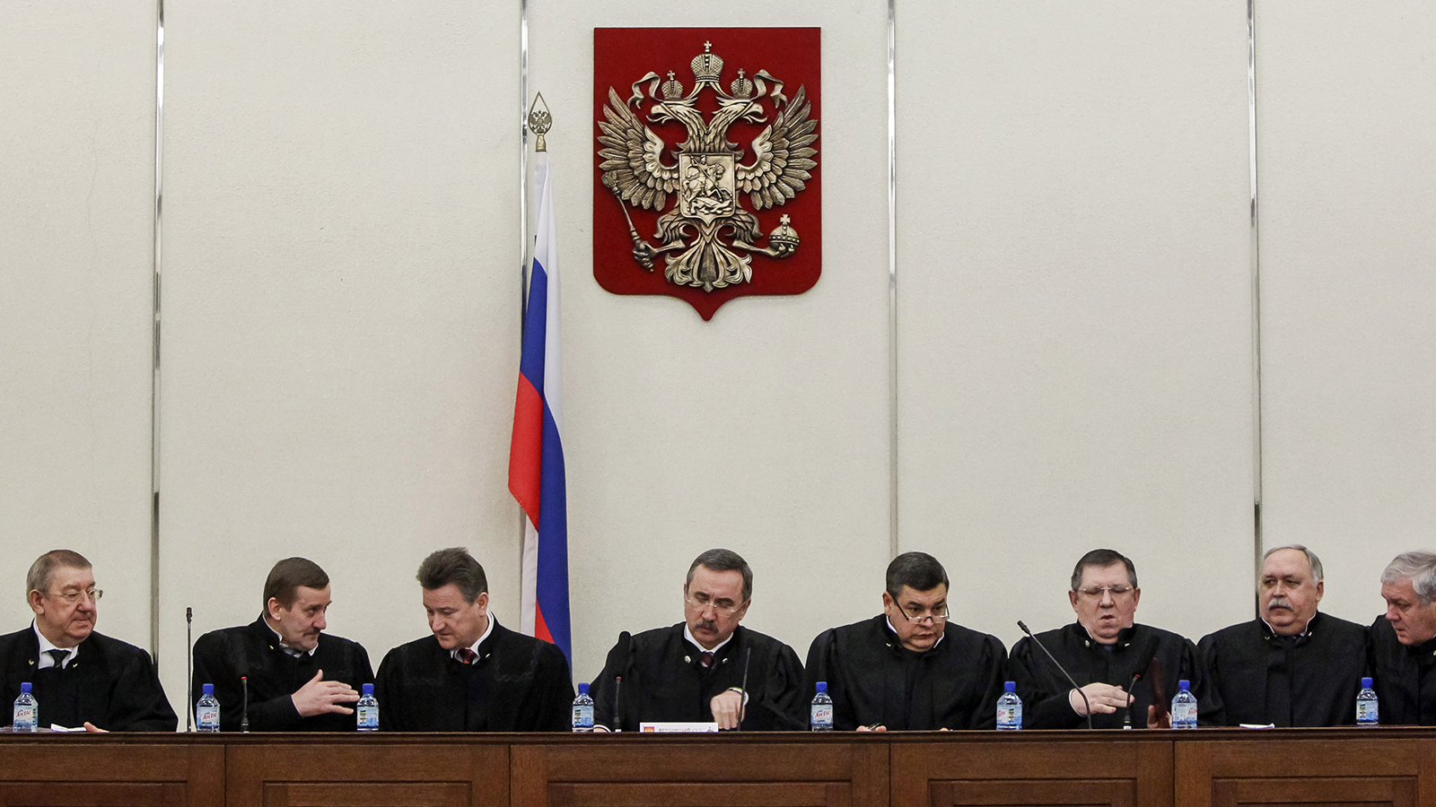 Judges of Russia's Supreme Court