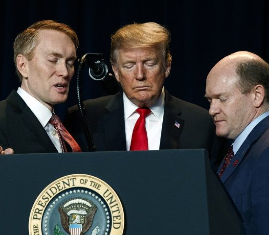 Lankford, Trump and Coons