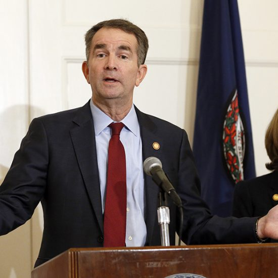 Gov. Ralph Northam and wife