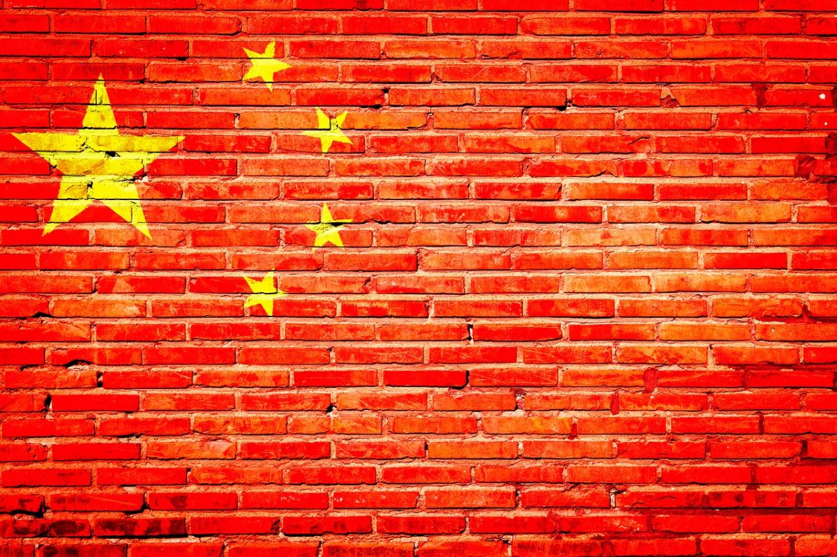 china brick wall