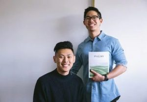 Bryan Ye-Chung, left, and Brian Chung