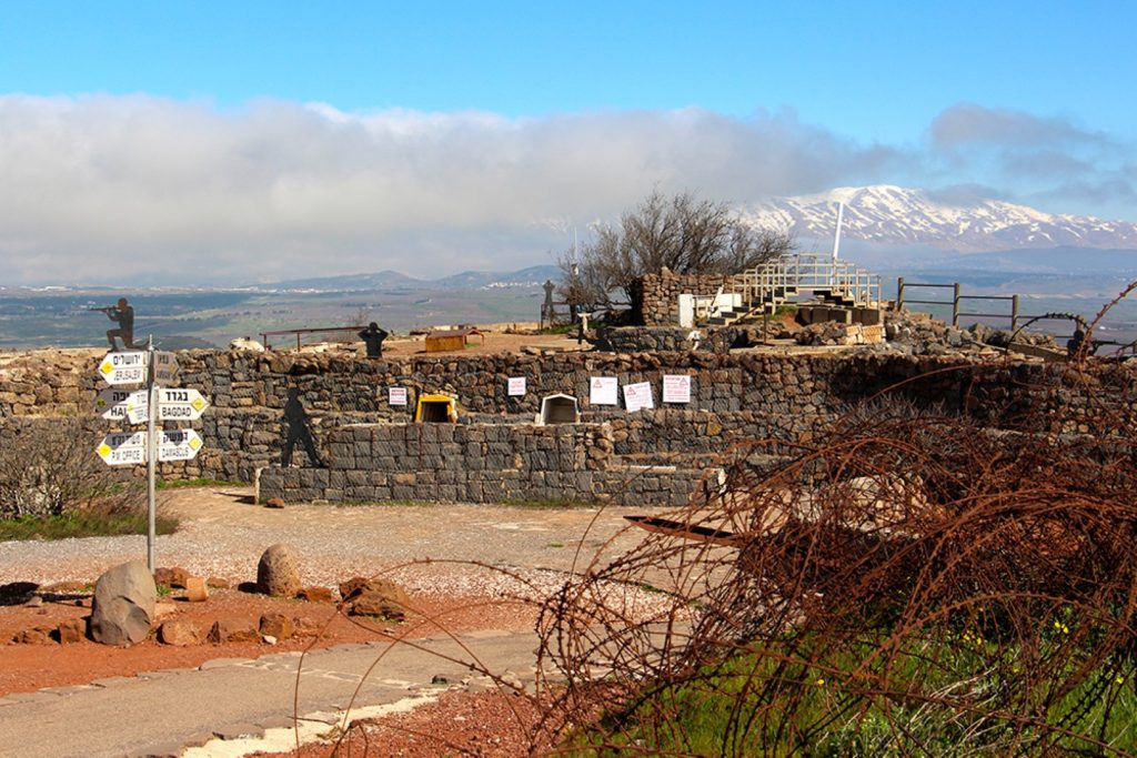 old Israeli army outpost