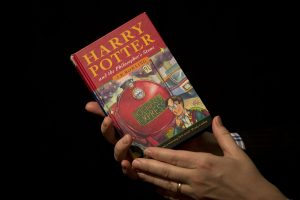 first edition copy of the first Harry Potter book