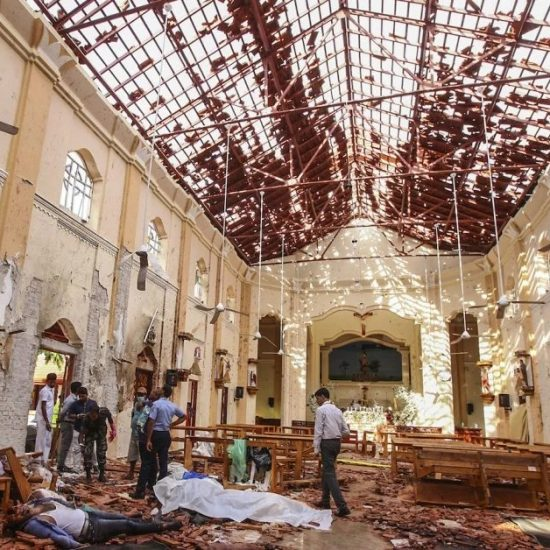 Sri Lanka church bombing