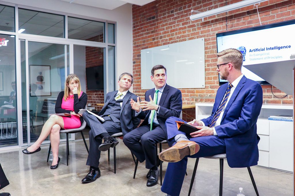 Russell Moore and AI panel