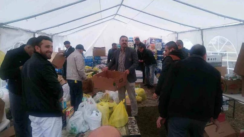 Yazidi community collects donations