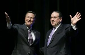 Bob Vander Plaats and Mike Huckabee