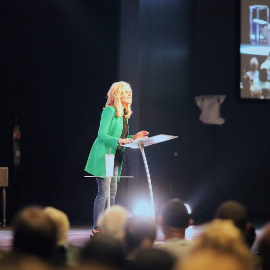 Beth Moore speaks at Transformation Church