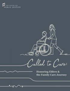 """Called to Care"" cover"