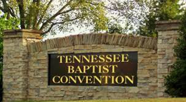 Tennessee Baptist Convention sign